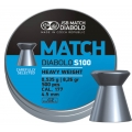 Пули JSB MATCH DIABALO S100 HEAVY WEIGHT (BLUE) 0,535g 4,50mm 500шт