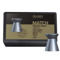 Пули JSB MATCH PREMIUM SERIES DIABOLO HEAVY WEIGHT 0,535g 4,50mm 200шт