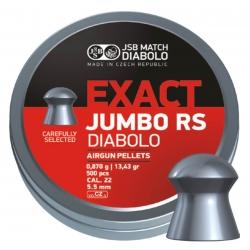 Пули JSB EXACT JUMBO RS DIABOLO 0,870g 5,52mm 500шт